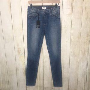PAIGE Denim Hoxton High Waist Ultra Skinny Jeans